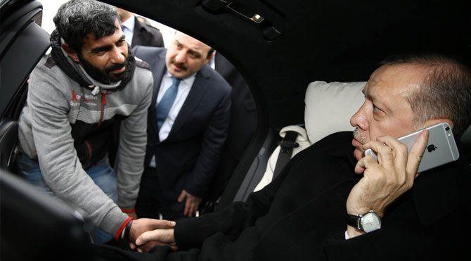 Erdoğan intihar etmek isteyen vatandaşa ne dedi?