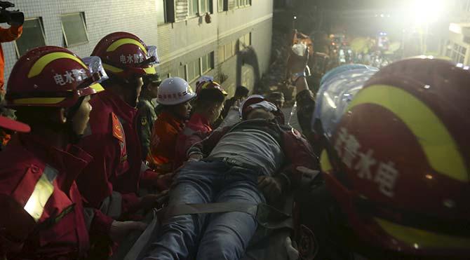 Çin'deki heyelan faciası sonrası bir yetkili intihar etti