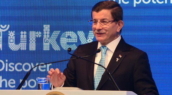 """Davutoğlu """"Başkanlık sistemi"""" dedi"""