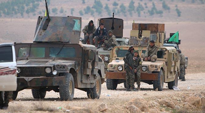 Amerika, hava desteği verdi PKK, Fırat'ın batısına geçti!