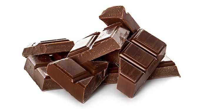 Sıcağa dayanıklı çikolata üretildi