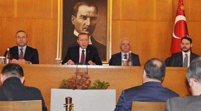 Erdoğan'ın Demirtaş gafına damadı müdahale etti