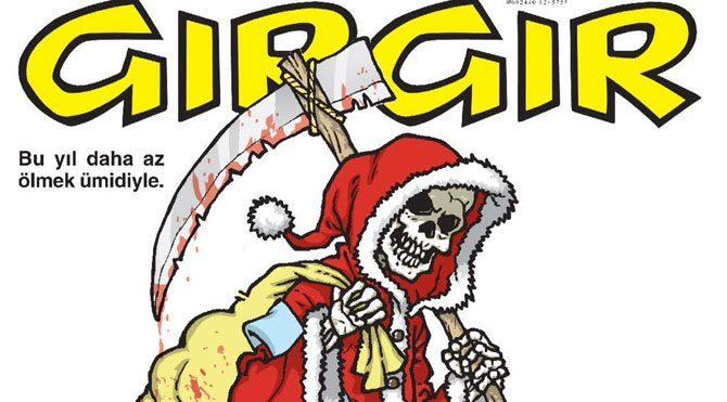 GIRGIR'dan olay yılbaşı kapağı