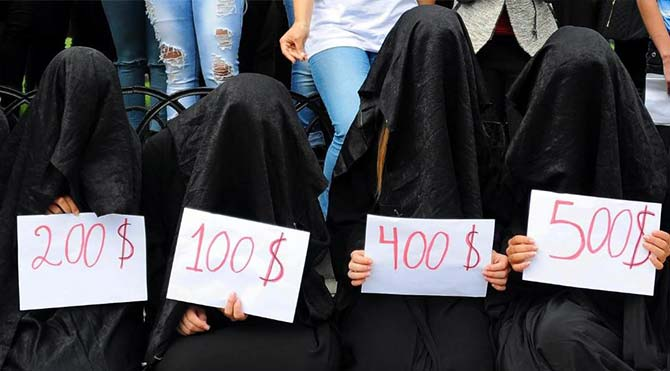 IŞİD'in tecavüz kuralları