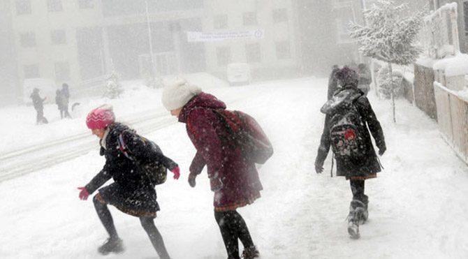 Bugün ve yarın İstanbul'da okullar tatil olacak mı?