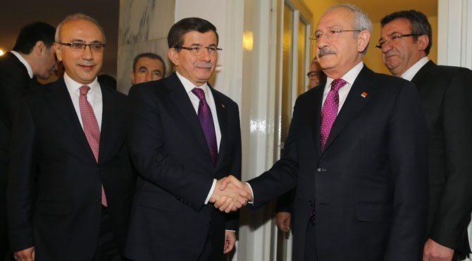 Davutoğlu-Kılıçdaroğlu buluştu