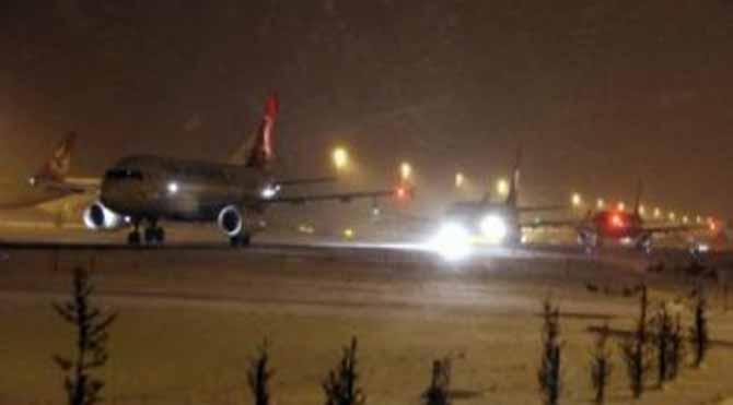 Atatürk Havalimanı otele döndü