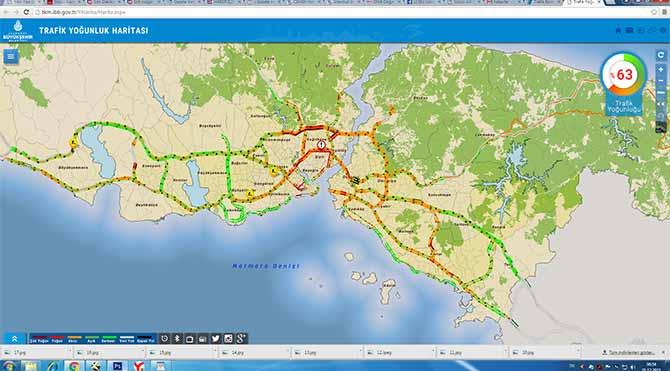 DİKKAT! İstanbul'da trafik yoğunluğu artıyor