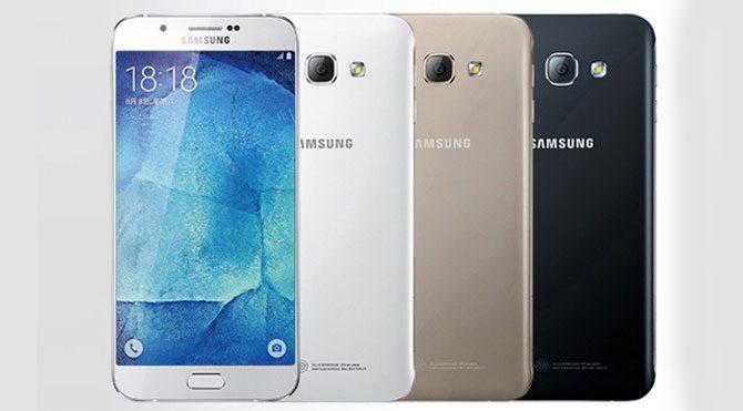 Galaxy A9'un fiyatı ortaya çıktı