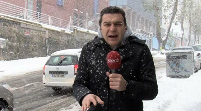 """""""Kış lastiksiz"""" araçlar İstanbulu kilitledi"""