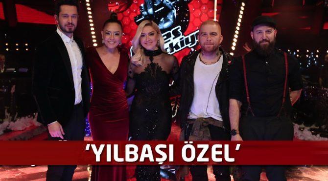 O Ses Türkiye Yılbaşı Özel programında ünlüler yarışıyor! O Ses Türkiye izle