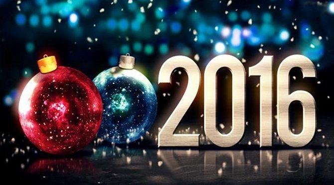2016, yeni yılınız kutlu olsun! İşte en güzel yeni yıl mesajları…