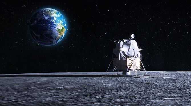 Dünya dışı yaşamı araştırmak için Ay'a şehir kurulacak