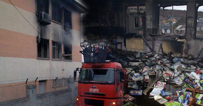 PKK, yine okul yaktı