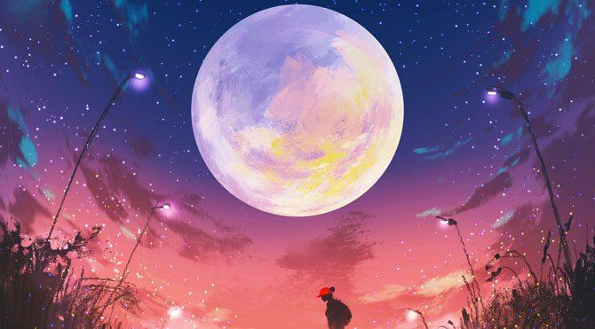(Şimdiye kadarki en iyi) Ay şekli Boyama