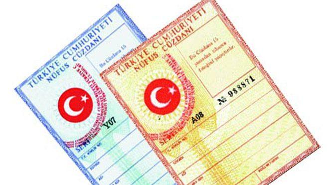 Nüfus cüzdanındaki renk ayrımı kalkıyor