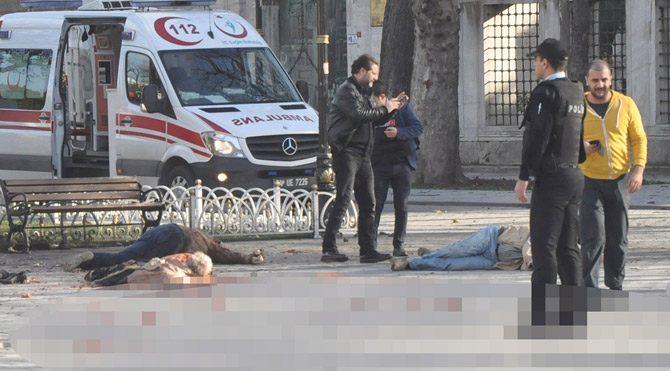 Sultanahmette canlı bomba saldırısı