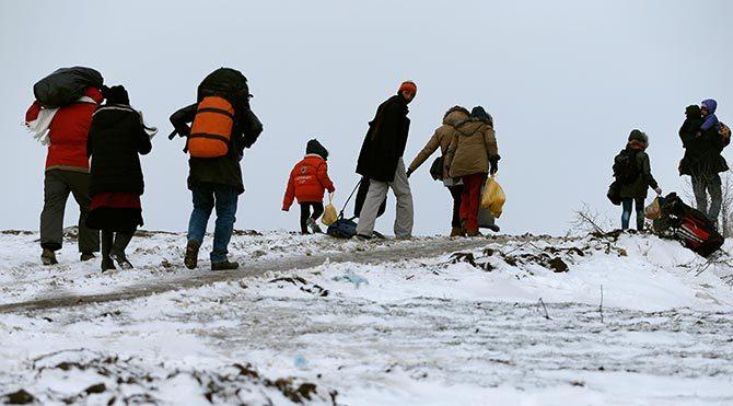 Sığınmacılar geri gönderilme korkusundan kamplardan kaçmaya başladı