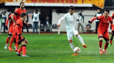 Akhisar Galatasaray Geniş Maç Özeti İzle (Akhisar 1-1 Galatasaray)