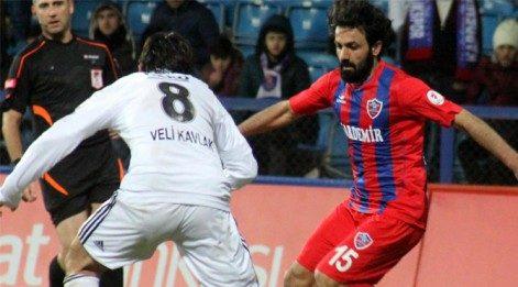 Eksik Beşiktaş puan alamadı