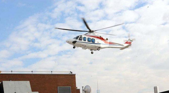Mustafa Koç, Amerikan Hastanesi'ne helikopterle getirildi
