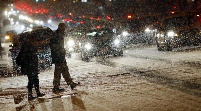 ABD'de büyük kar fırtınası hazırlığı