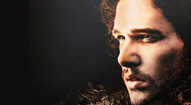Jon Snow tiyatro sahnesinde