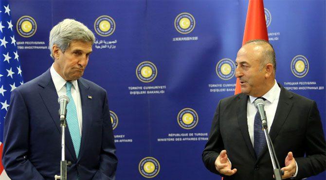 Sürpriz Çavuşoğlu Kerry görüşmesi
