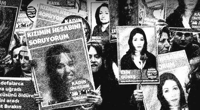 2015'te 369 kadın öldürüldü