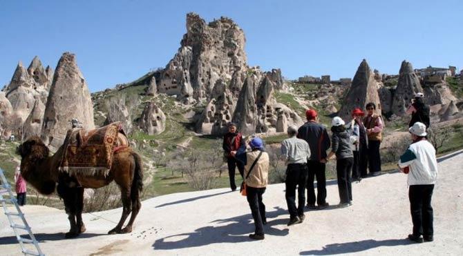Müze ve örenyeri ziyaretçi sayılarında büyük düşüş