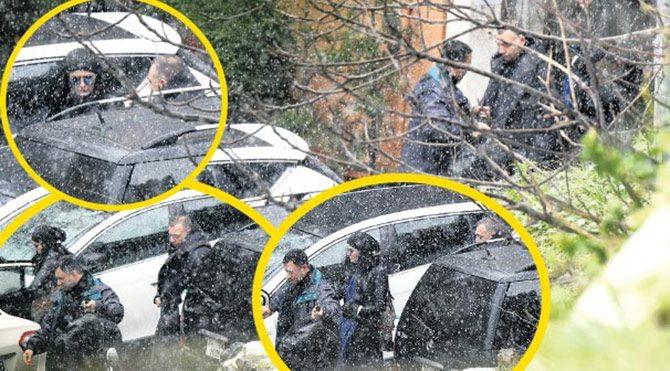 Foto: Magazin - Deniz Çakır ve Oktay Kaynarca aynı evden çıkarken görüntülendi