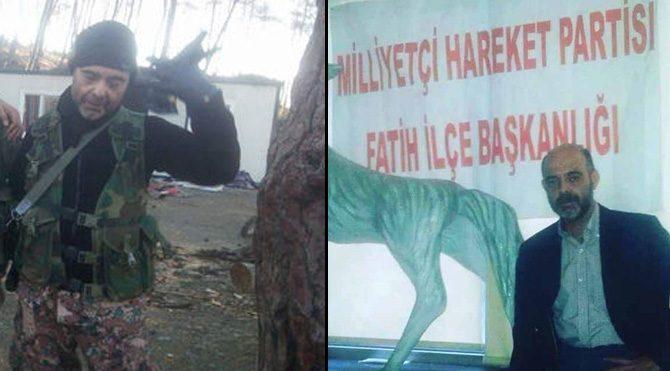MHP'li başkan Türkmen Dağı'nda yaşamını yitirdi