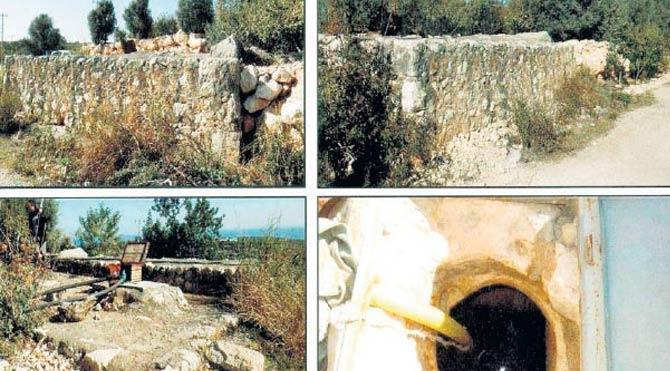1600 Yıllık sarnıç sulama borusu olarak kullanıldı