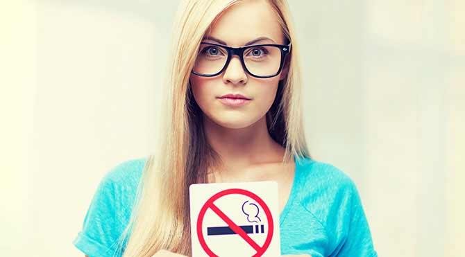 Sigarayı bırakmak için…
