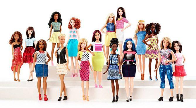 Yeni Barbie bebekler artık 'kıvrımlı'