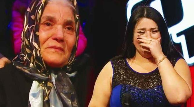 Annesi için söyledi hem ağladı hem ağlattı