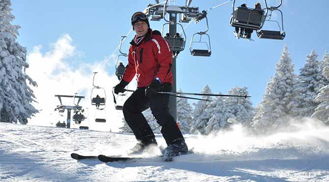 Türkiye'nin en iyi 10 kayak merkezi