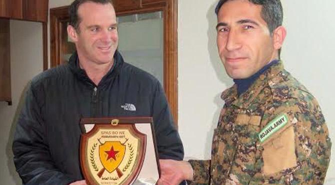 McGurk'a plaket veren PKK'lı çıktı - Son dakika haberleri