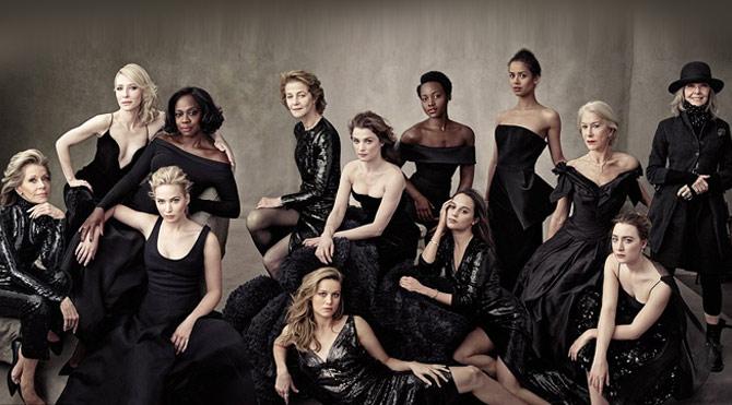 Hollywood'un altın kızları Vanity Fair kapağında…