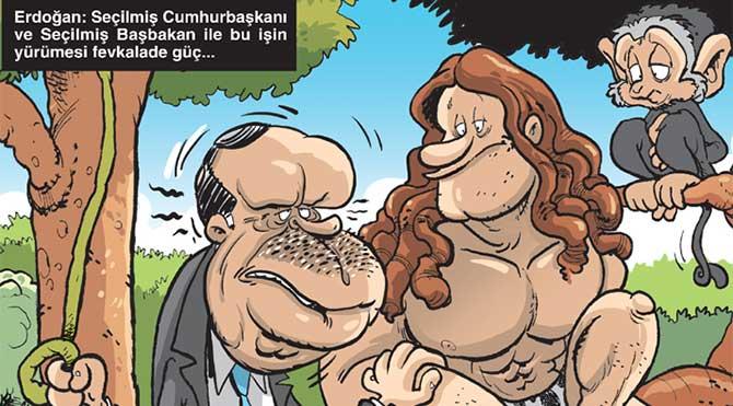 Gırgır'ın kapağında başkanlık sistemi var