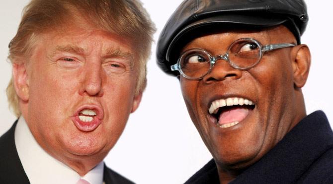 Samuel L. Jackson, Donald Trump'a küfür etti