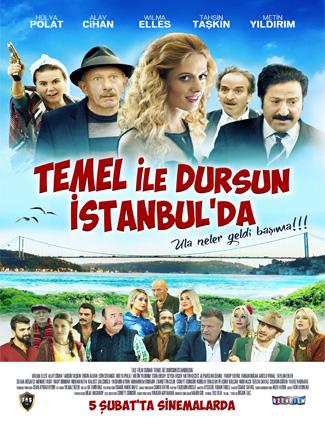 Foto: Bülten - Temel ile Dursun İstabul'da afiş