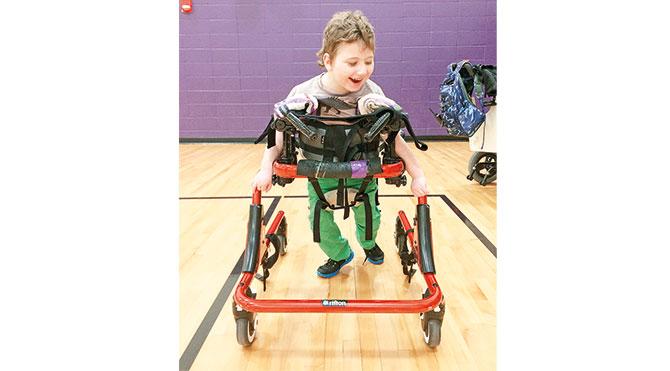 Engelli çocuklara özel hizmet