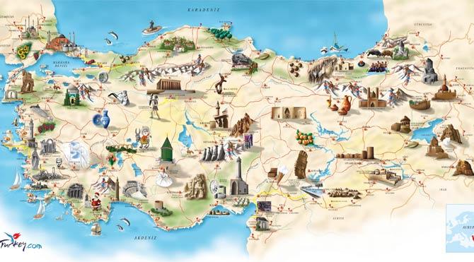 'Türkiye Kültür Varlıkları' haritası çıkarıldı