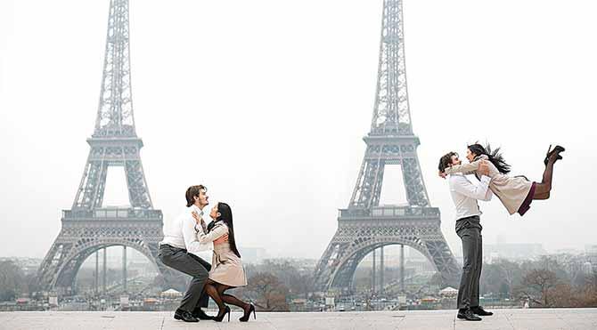 Sevgililer Günü'nü kutlamak için romantizm dolu şehirler