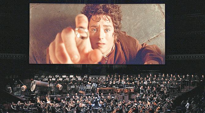 'Yüzüklerin Efendisi' senfoni orkestrasıyla geliyor