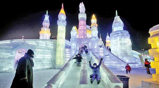 Dünyaca ünlü buz festivalleri
