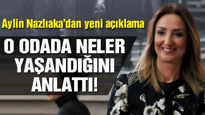 Aylin Nazlıaka'dan yeni açıklama
