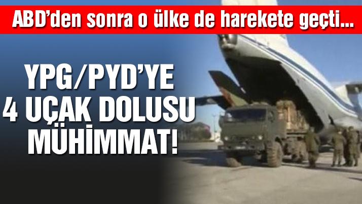 Suriye'den YPG'ye silah yardımı