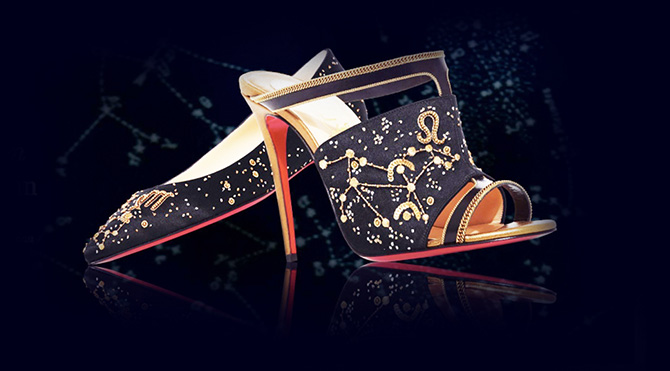 The Zodiac Collection by Christian Louboutin Foto: Sosyal Medya